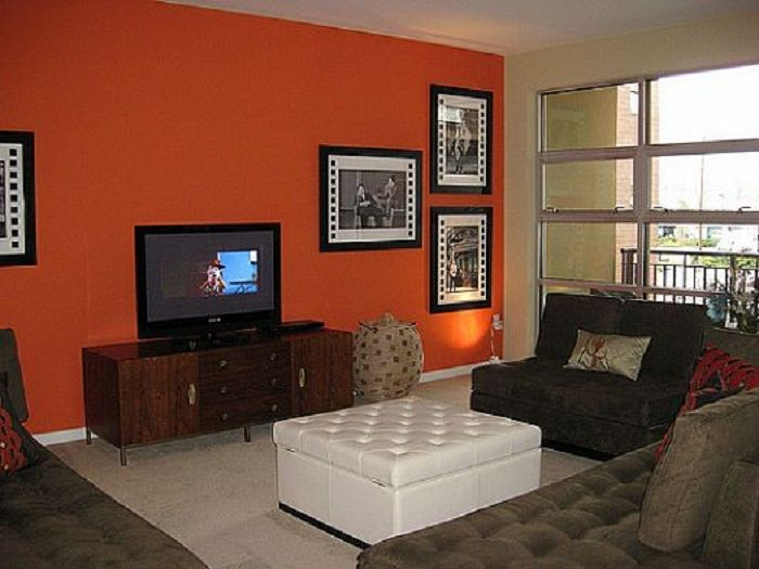 Accent Wall Color Modern Design