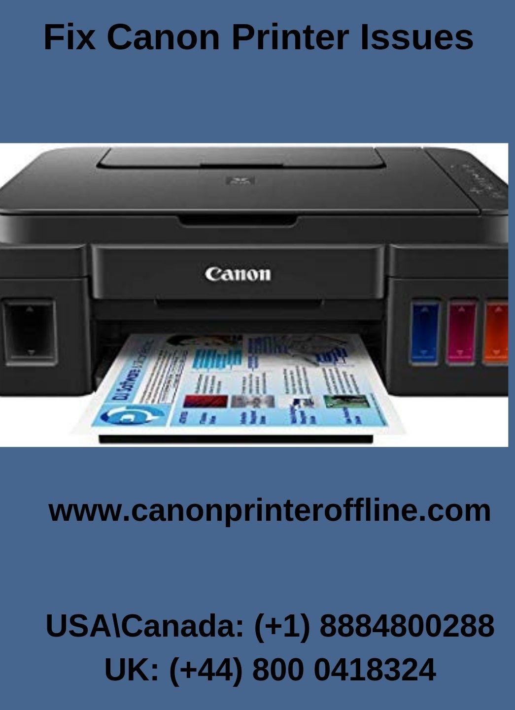 Want to fix wireless canon printer offline error instantly