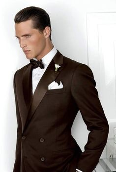Image Result For Chocolate Brown And Le Green Wedding Suits