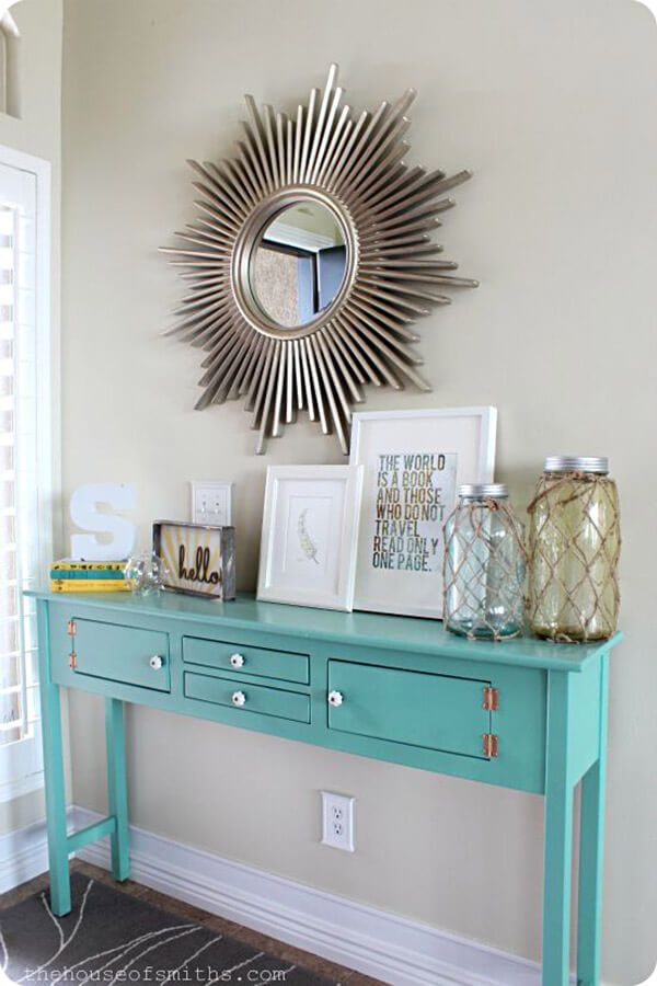 37 Eye Catching Entry Table Ideas To Make A Fantastic First Impression Entryway Table Decor Entry Table Decor Home Decor