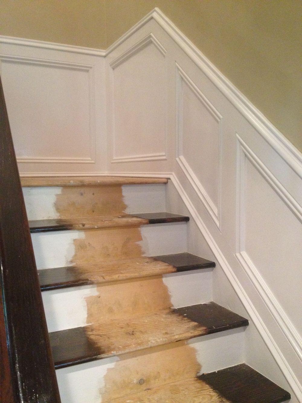 Stairway Updating House Wainscoting Wainscoting Stairs