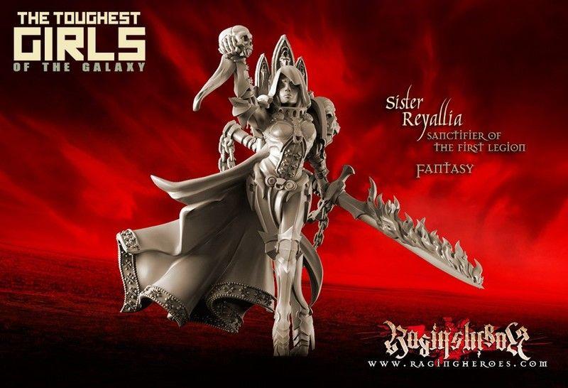 Raging Heroes - The Toughest Girls: Fantasy, Reyallia