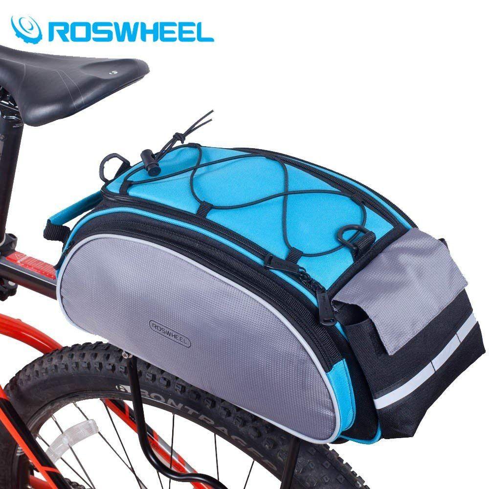 Mountain Road Bike Bicycle Cycling Rear Seat Rack Trunk Bag Pack