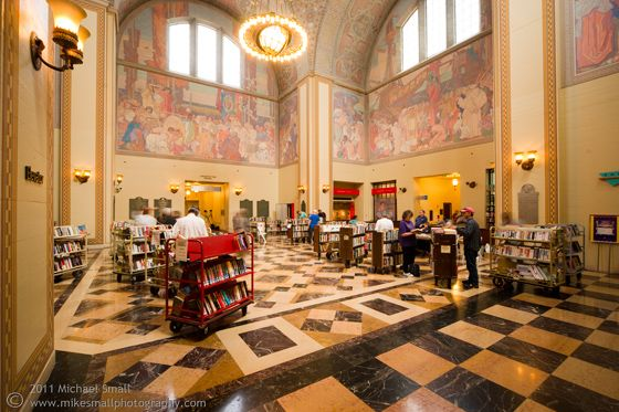 Los Angeles Central Public Library Rotunda Central Library Architecture Photography Architect