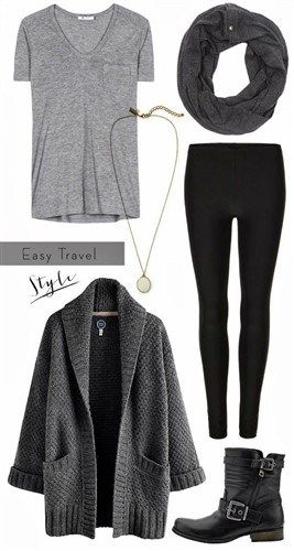 50+ Fashionable Leggings and Boots Winter Outfit Ideas #autumnwinterfashion