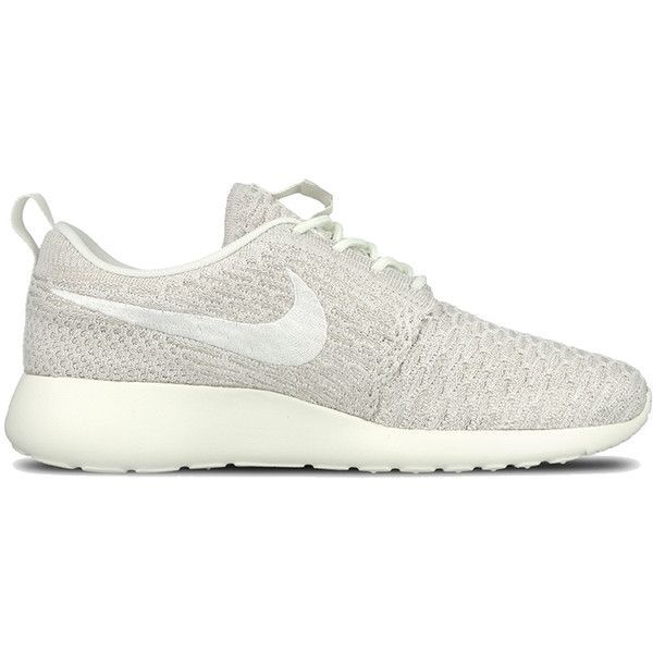 d993b9698ad35 Nike WMNS Roshe One Flyknit ( 120) ❤ liked on Polyvore featuring shoes