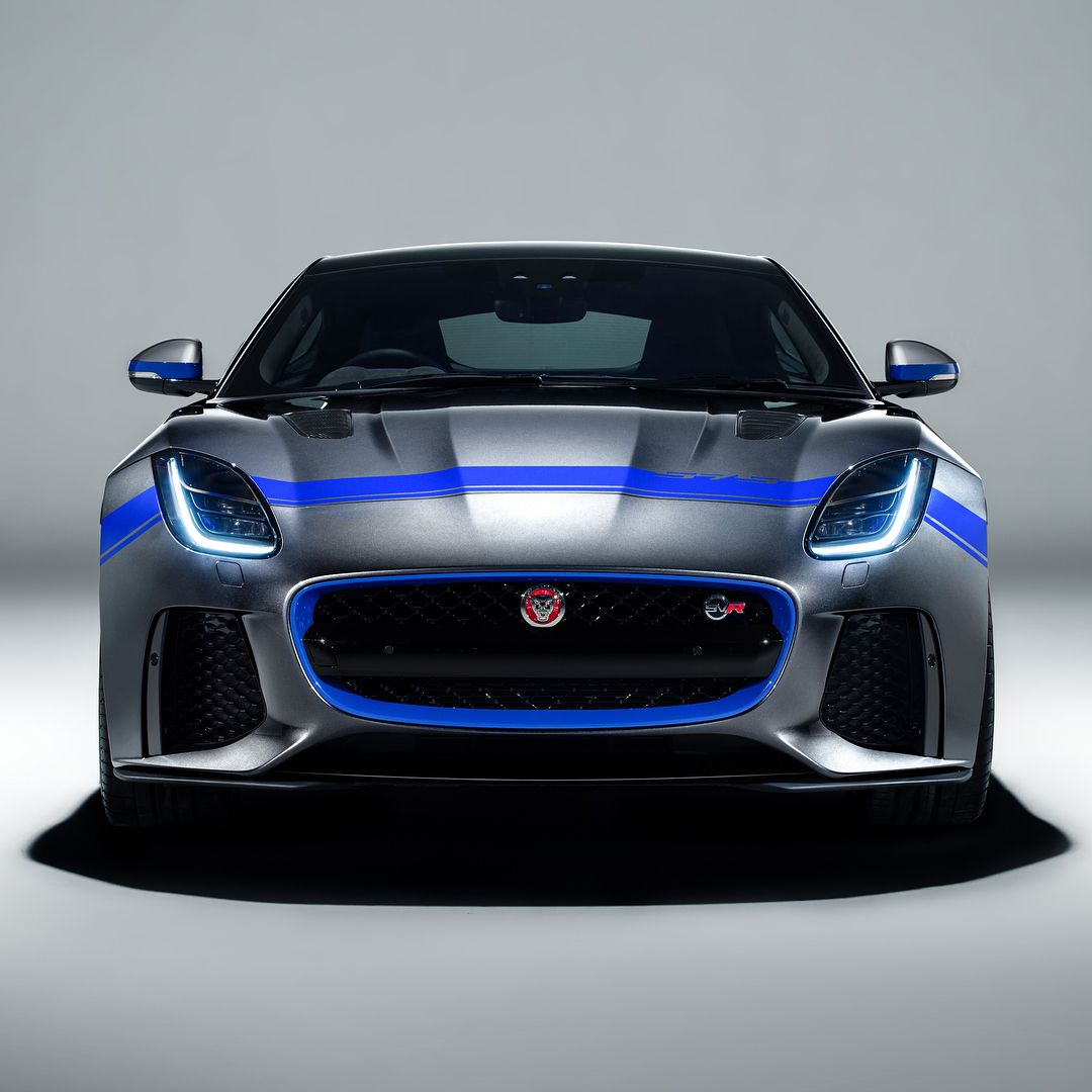 Stripes Earned This Is The New Jaguar Ftype Svr Graphic Pack