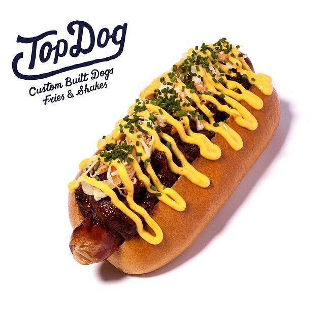 Top Dog's Pulled Pork 'n' Slaw Dog