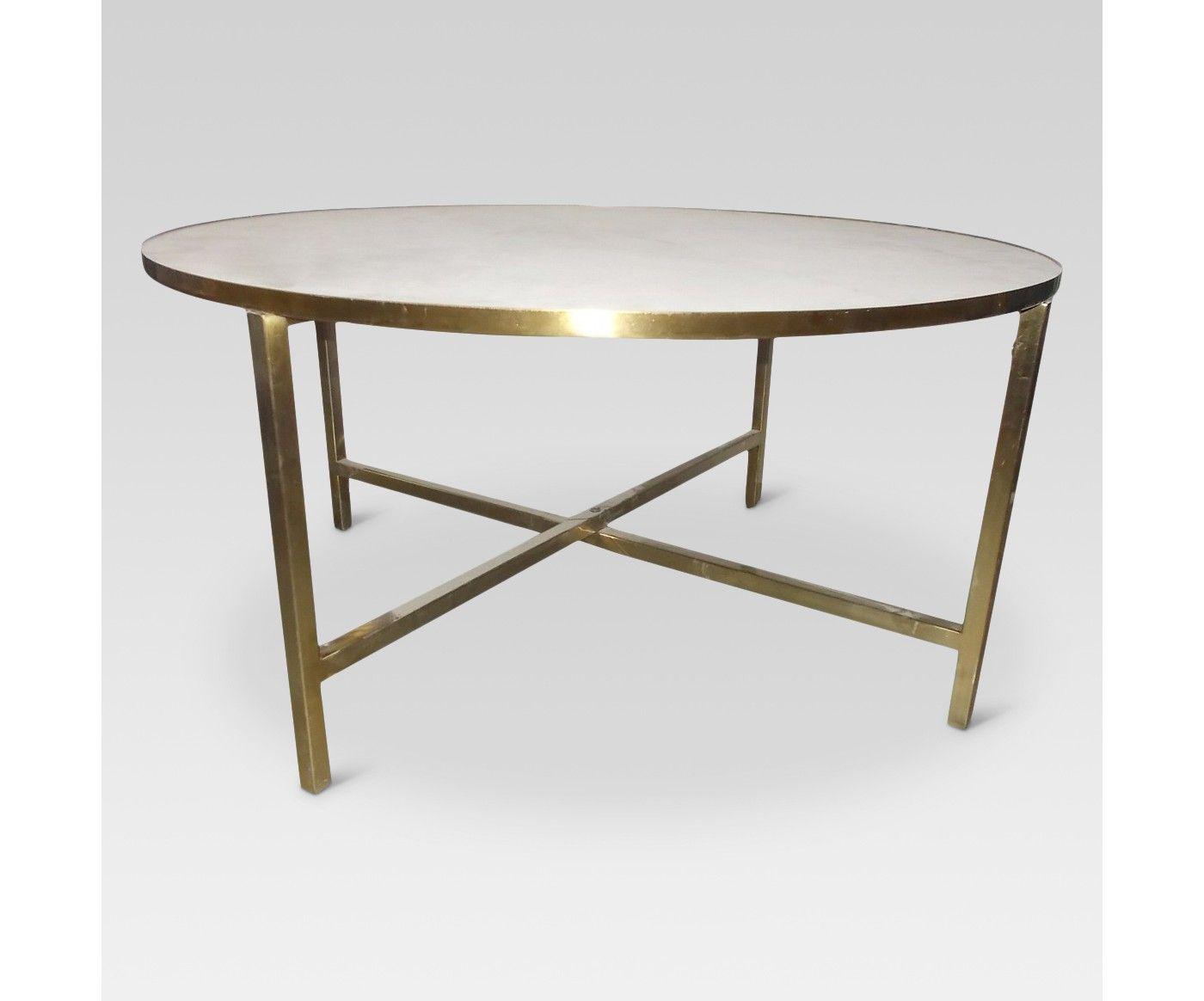 Marlton Round Coffee Table Threshold Image 1 Of 7 Coffee Table Round Coffee Table [ 1164 x 1400 Pixel ]
