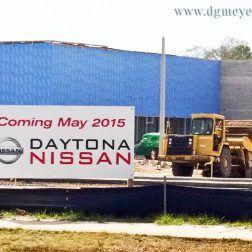 Daytona Auto Mall >> D G Meyer Inc Working On New Nissan Dealership At Daytona
