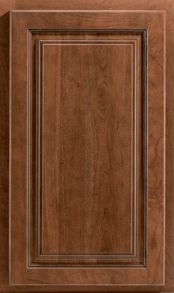 Wyoming Cherry Spice Cabinets For The Kitchen