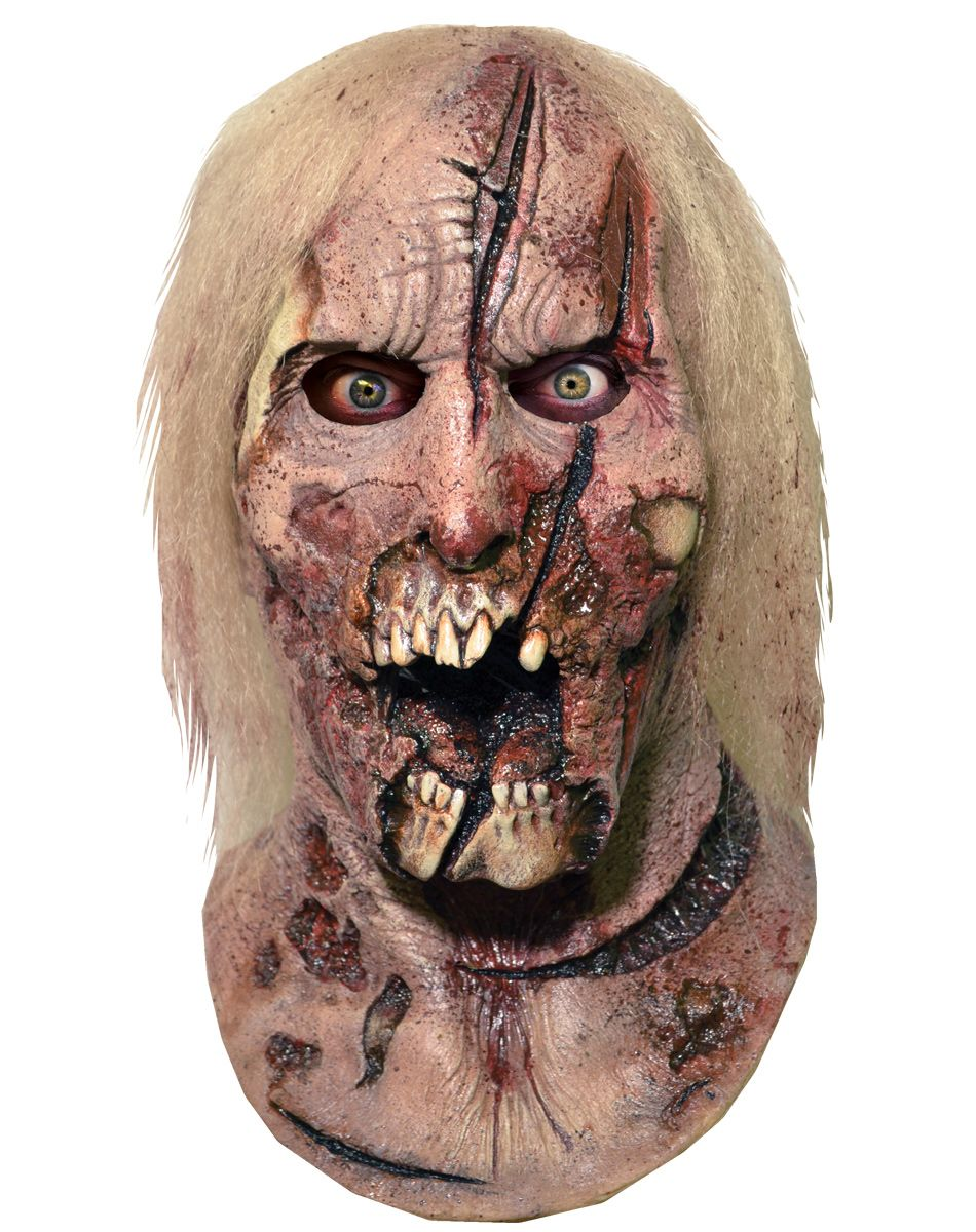 The Walking Dead Deer Walker Full Mask at Spirit Halloween - Eat ...