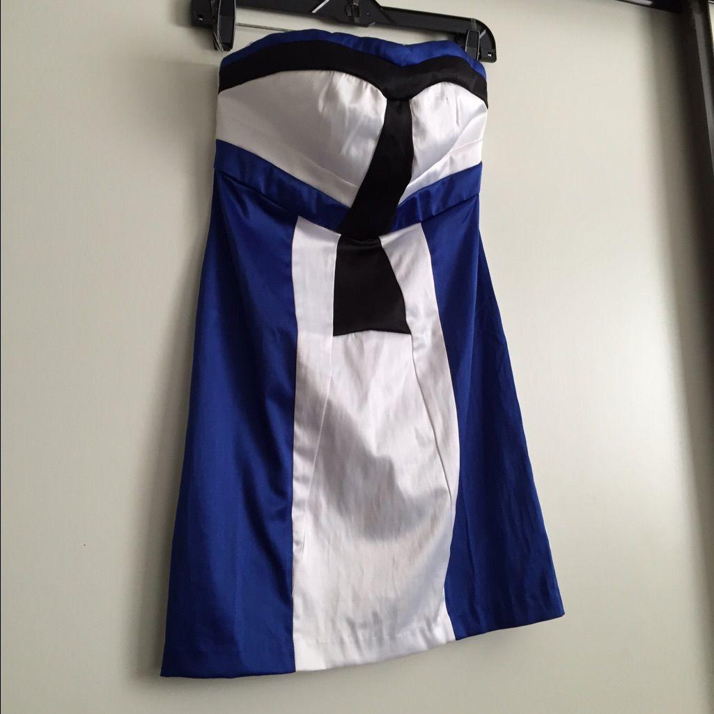 Charlotte Russe Color Block Dress