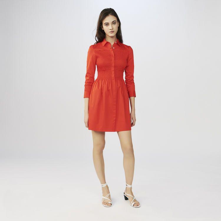 1333044795b ROUMPA - Robe-chemise avec smocks - Robes