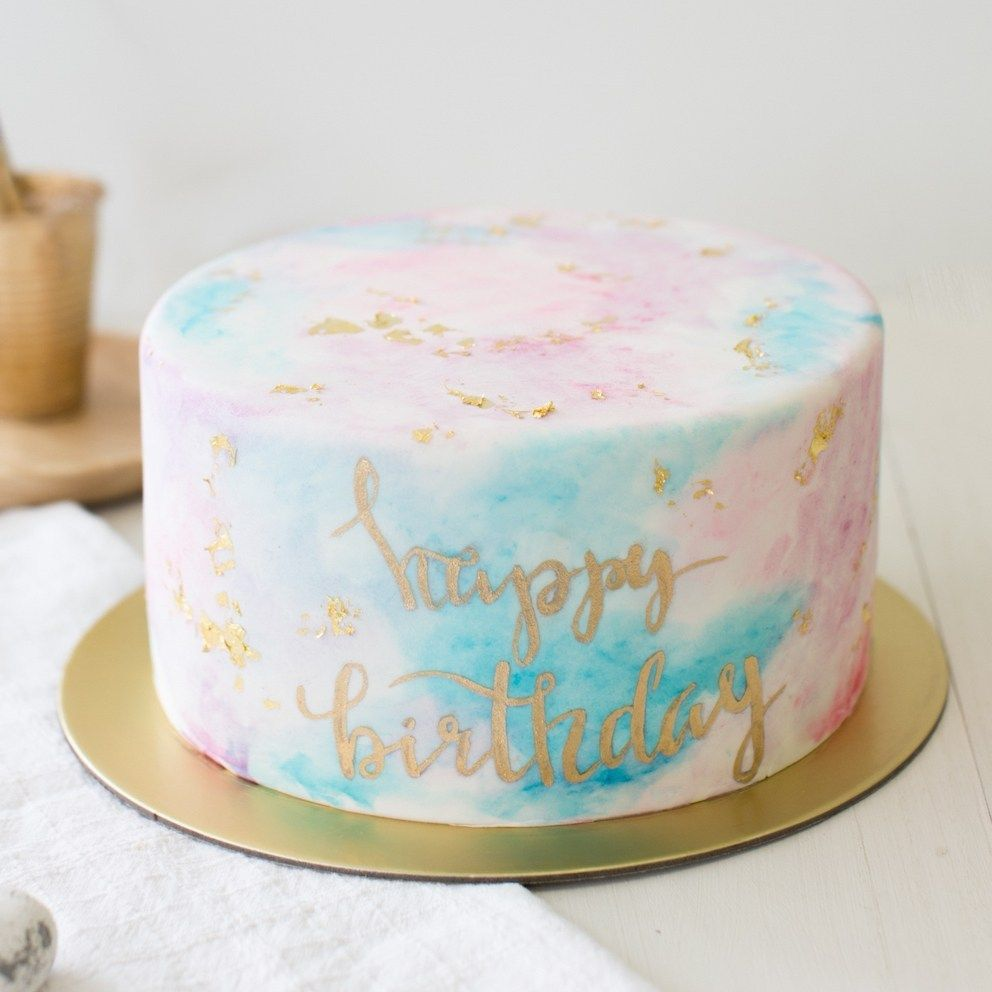 30 Elegant Picture Of Female Birthday Cakes With Images 14th