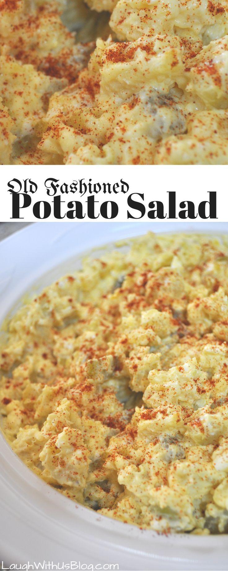 Old Fashioned Potato Salad-recipe passed down generations, so good Old Fashioned Potato Salad--recipe passed down generations, so good!