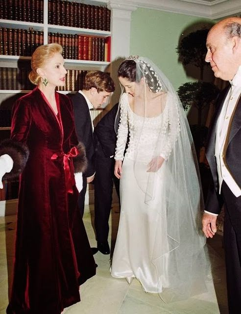 carolina herrera & daughter patricia | Iconic Weddings in 2019
