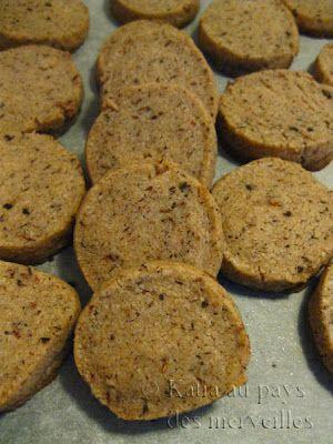 Biscuits sablés rooibos à la vanille