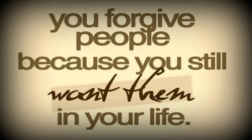 do you forget?