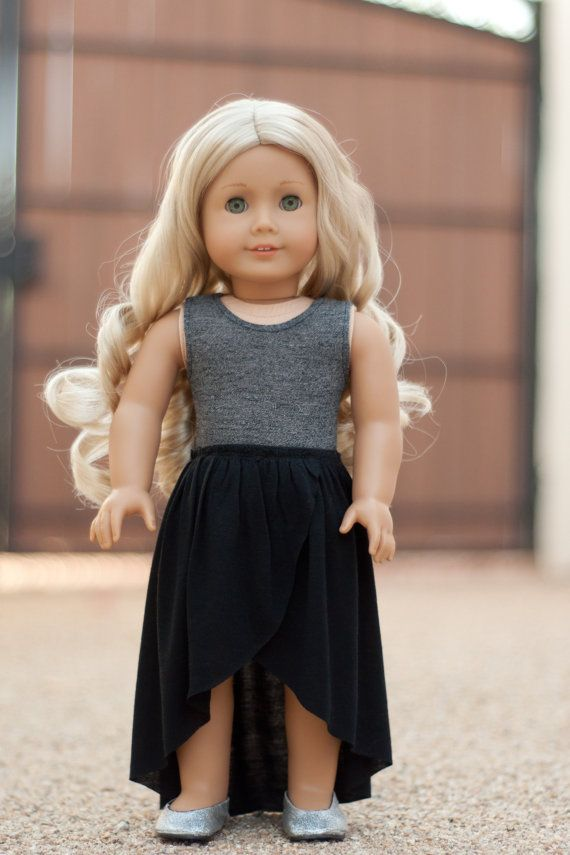 Maxi Skirt & Peplum Top by RoyalDollBoutique on Etsy $28.50 #toydoll
