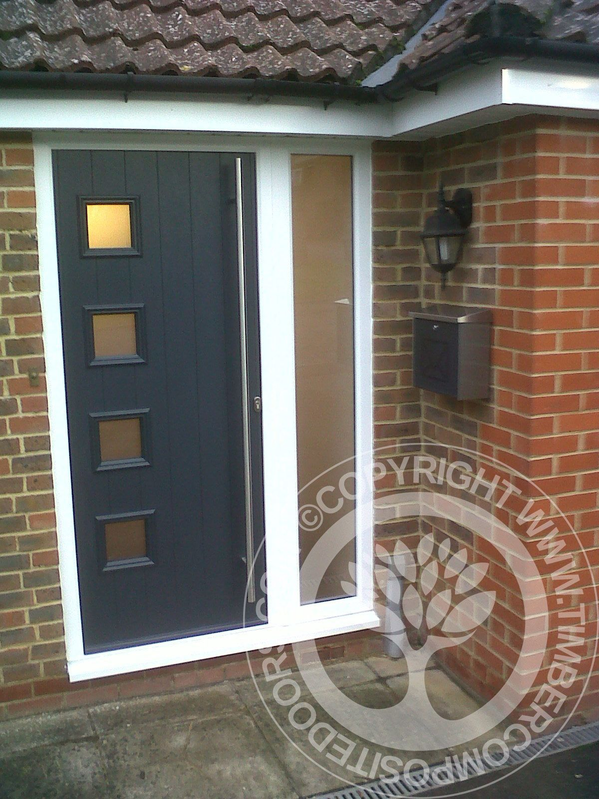 Solidor Milano Italia Collection Composite Door in Anthracite Grey : Our Door of the Day & Solidor Milano Italia Collection Composite Door in Anthracite Grey ... Pezcame.Com