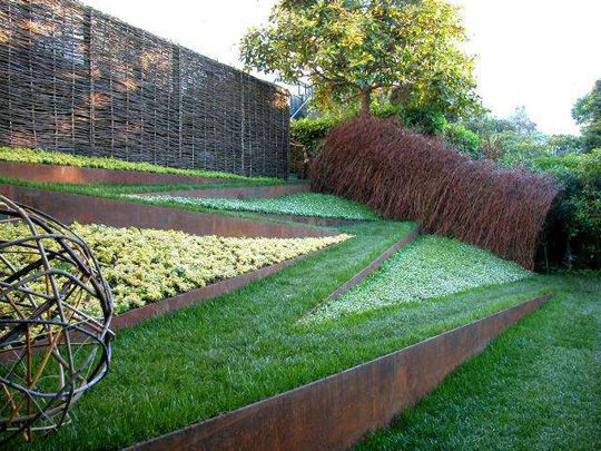 Willow Branch Structures From Pescadero S Willow Farm Modern Landscaping Outdoor Landscape Design Contemporary Garden Design