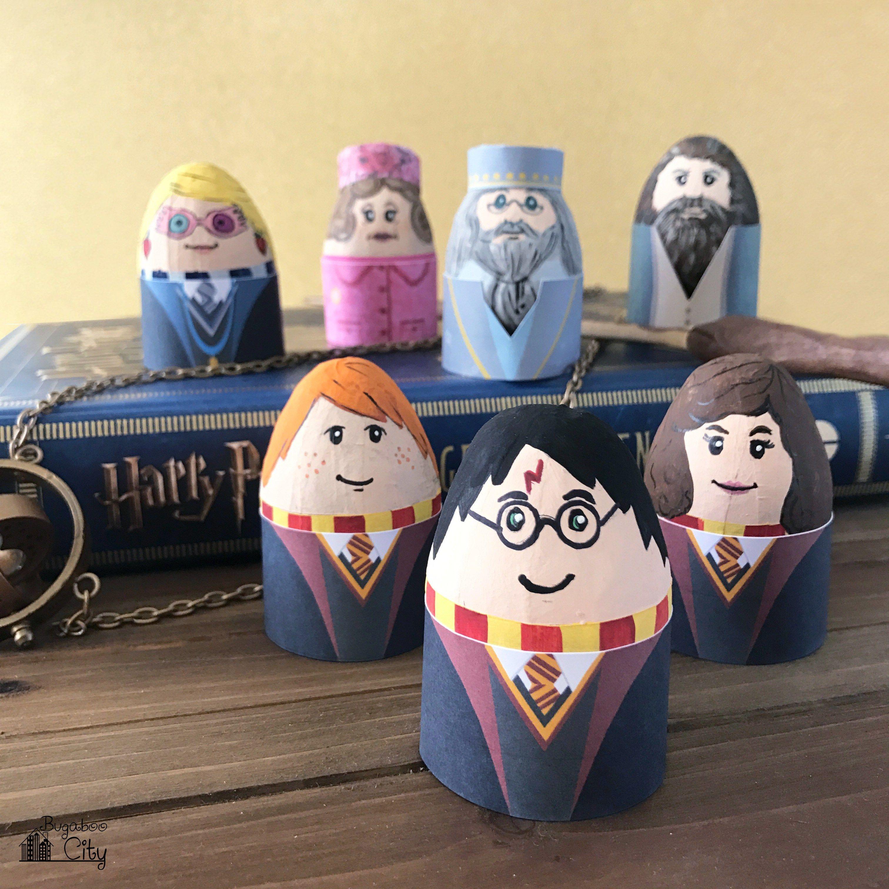 Diy Harry Potter Pillow Boxes Free Printables Harry Potter Easter Eggs Cool Easter Eggs Easter Egg Designs