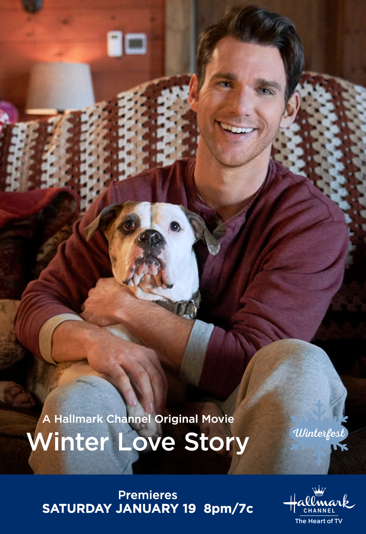 When Calls The Heart S Kevin Mcgarry Warms The Screen In Winter Love Story On January 19 At 8pm 7c On Hallmark Channel Hallmark Tv Hallmark Christmas Movies