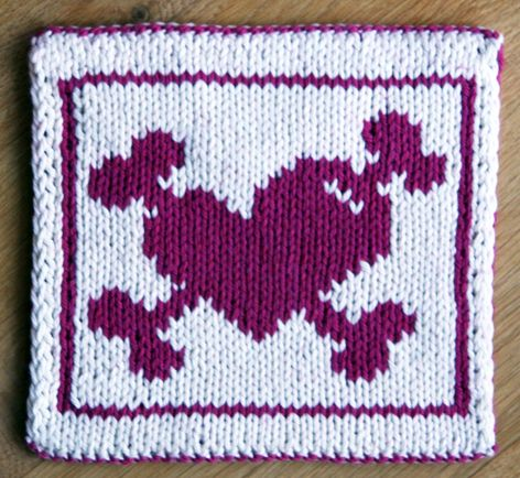 Tough Love Potholder By Camille Chang Knit Crochet For The Home