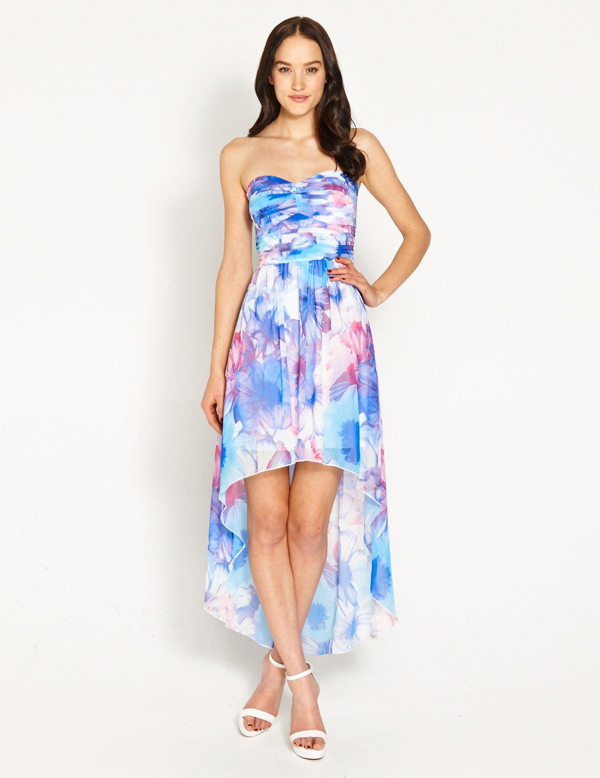248dadb576b Image for Pretty Floral Hi-Lo Dress from Dotti