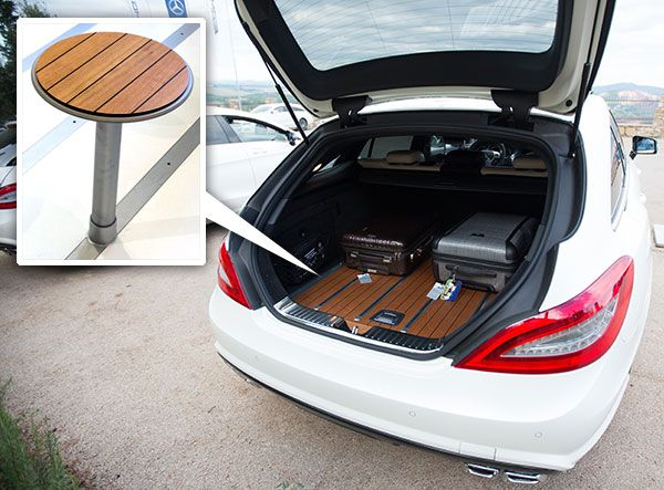 Mb S Cls Shooting Brake Luxury Wagon With Yacht Flooring