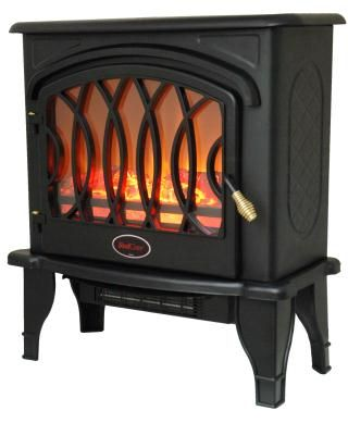 Redcore 15602 S 2 Infrared Electric Fireplace Stove With