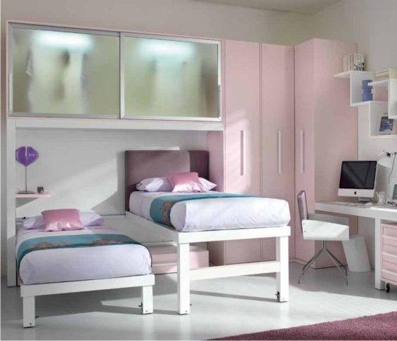 Letti a castello scorrevoli modelli e prezzi letti scorrevoli per ragazze letti rosa e - Ikea camerette per ragazze ...