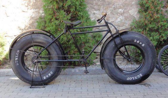 Fahrrad Dicke Reifen