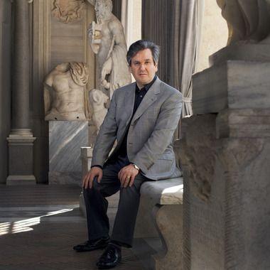 The UK-born, US-raised conductor of Italian origin is music director of both the Royal Opera House in London and the Accademia Nazionale di Santa Cecilia orchestra in Rome