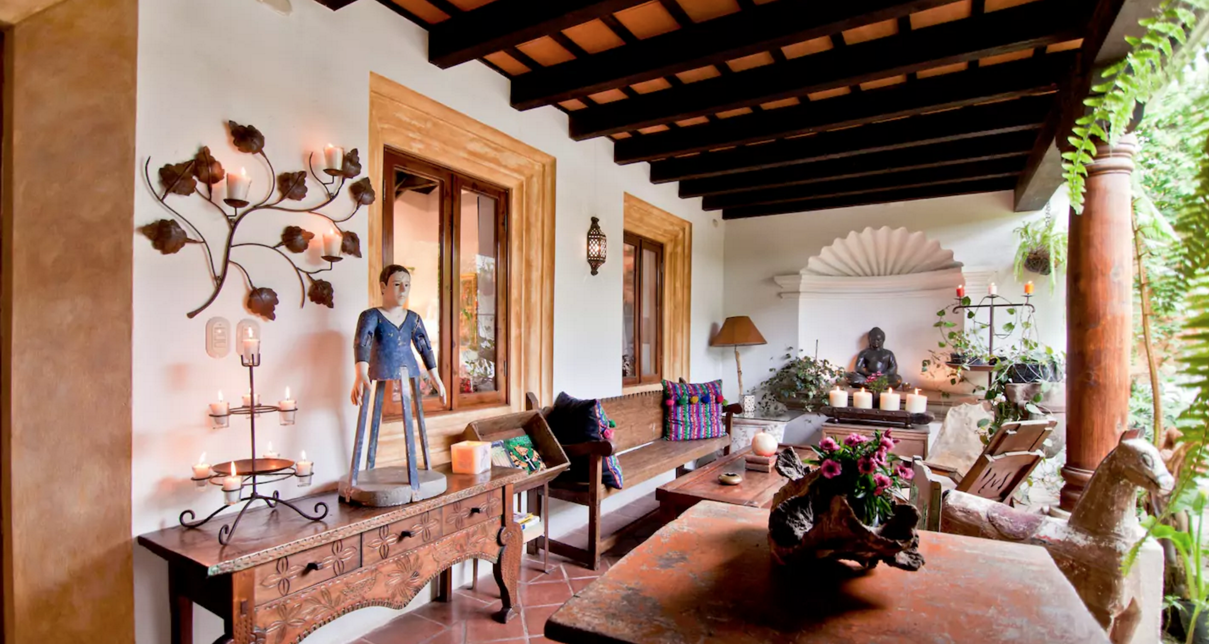 Busco Decorador De Interiores Casa Estilo Colonial Antigua Guatemala Casas E Ideas