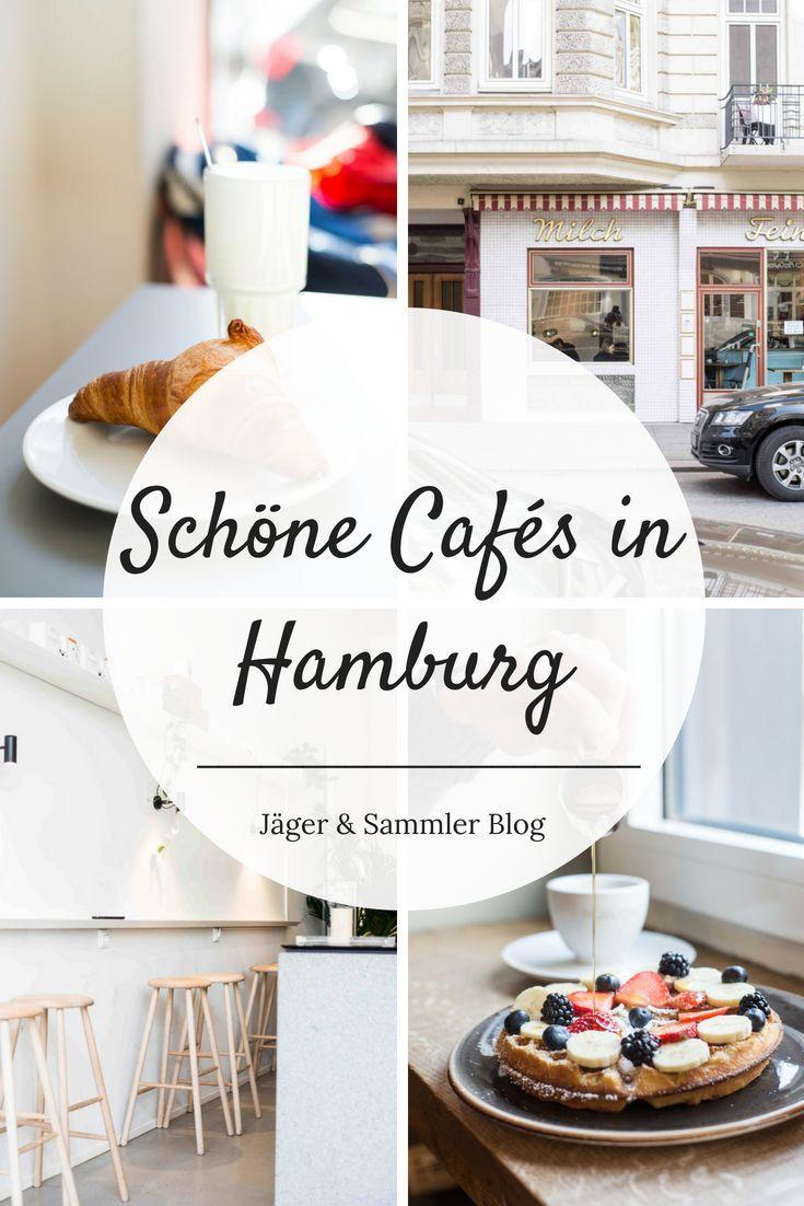 Tipps für schöne Cafés in Hamburg, in denen ihr leckeres Frühstück, frischen Kaffee und Kuchen bekommt.