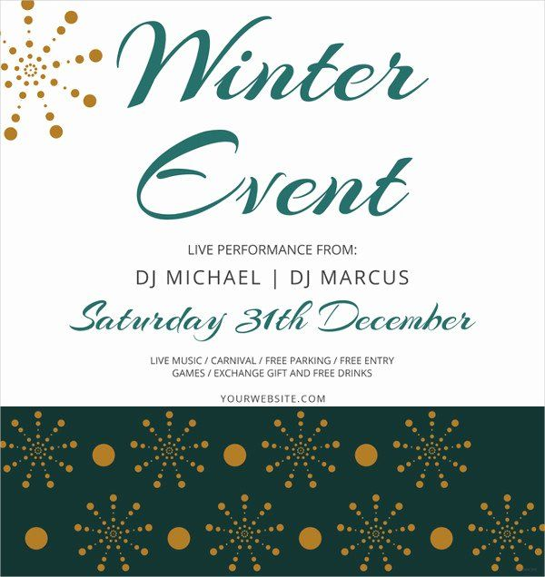 40 event flyer template word