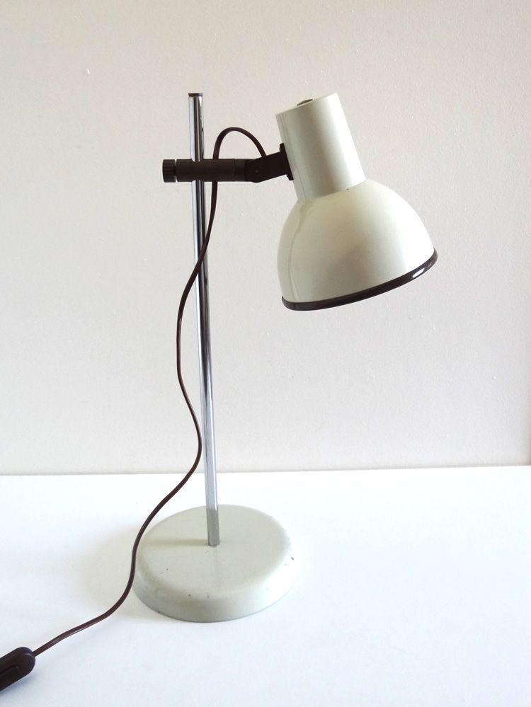 Lampe De Bureau Années 70 | Luminaire Vintage - Boutique Broc&Pop
