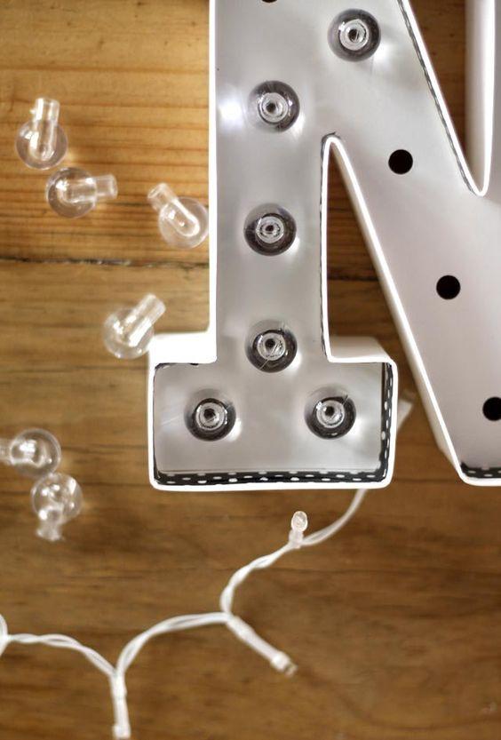 fiestascomo Como led para hacer letras hacer decorar ym0wPnvO8N