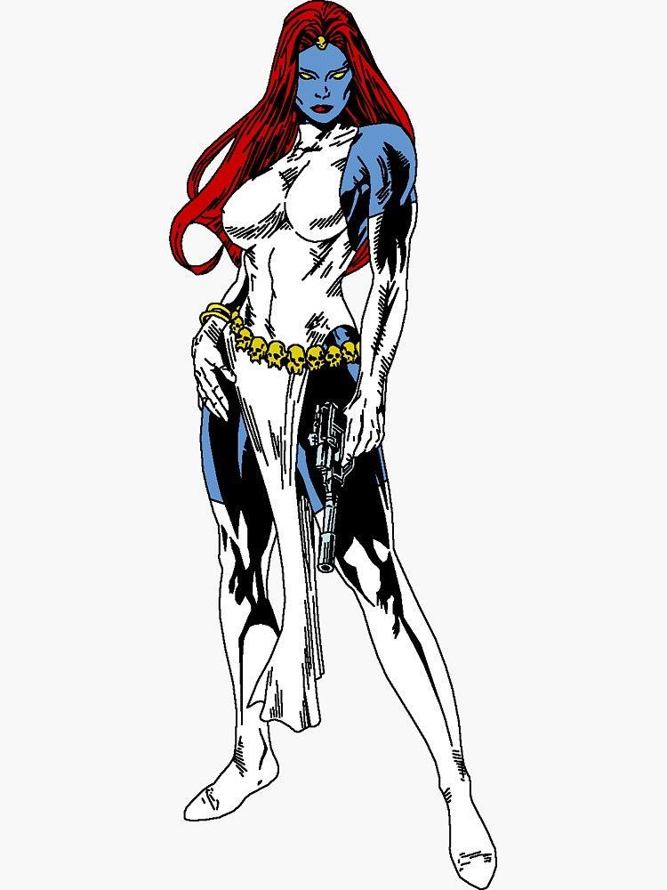 Mystique X Men Sticker Mystique Comic Mystique Marvel Marvel Comics Art