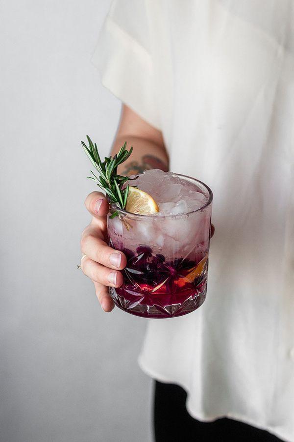 Photo of Blueberry Lemon Vodka Spritz • Serendipity by Sara Lynn