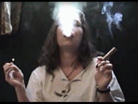 Mature lady heavy cig smokers