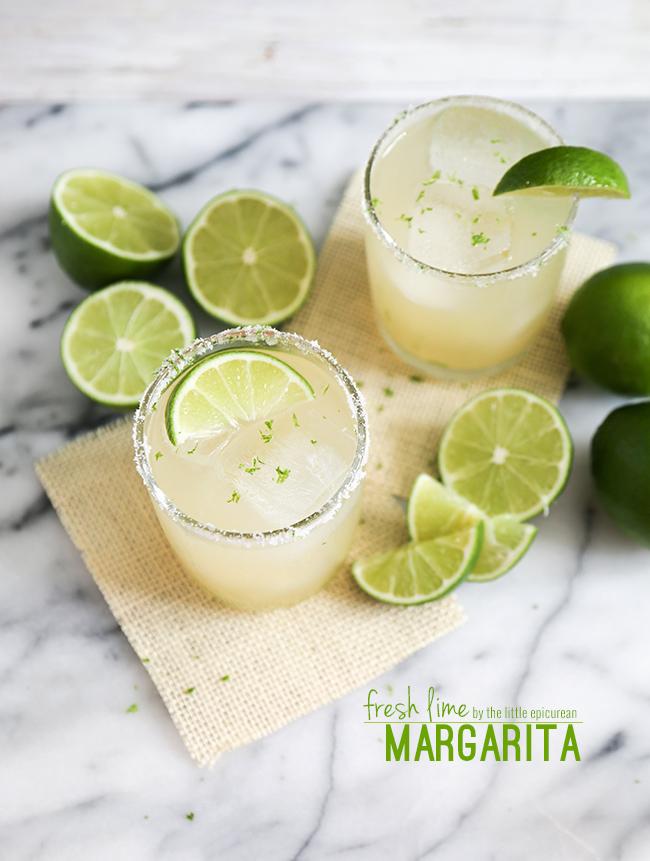 Fresh Lime Margarita- The Little Epicurean