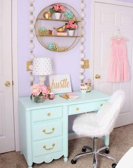 New House: Girls Bedroom Ideas #girlsbedroom