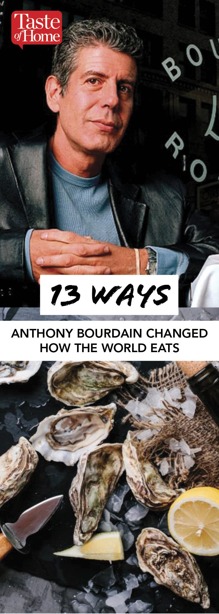 13 Ways Anthony Bourdain Changed How the World Eats Eat