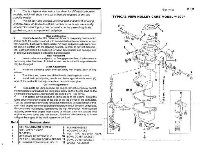 ford 2000 tractor holley carburetor 2 modification. Black Bedroom Furniture Sets. Home Design Ideas