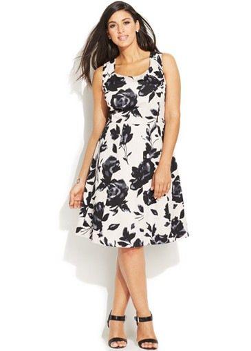 20 Plus Size Floral Dresses that Scream Spring | Vestiditos ...