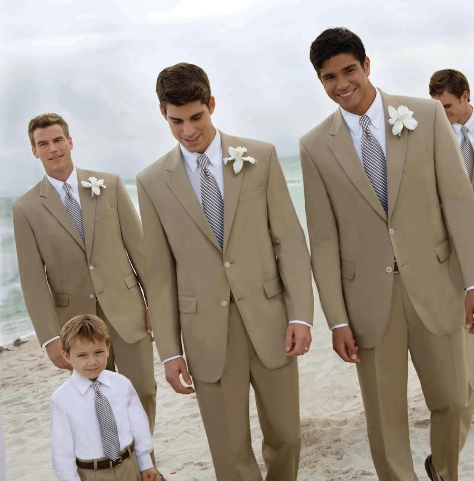 Beach wedding looks  Poplin suits for a springsummer wedding  Carly Wedding