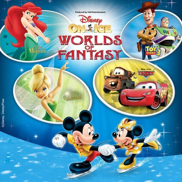Disney On Ice Worlds Of Fantasy Is Entertaining For The Whole Family Disney On Ice Disney World Win Tickets
